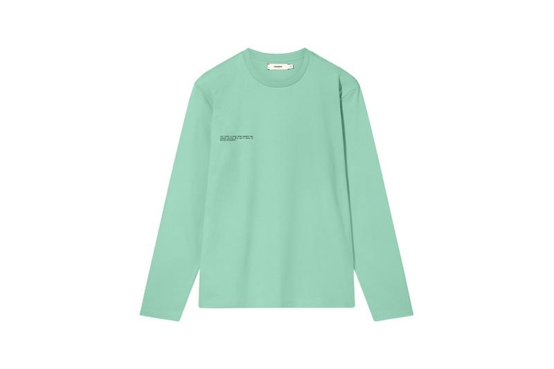 Pangaia Seaweed Family Collection Long Sleeve Mint