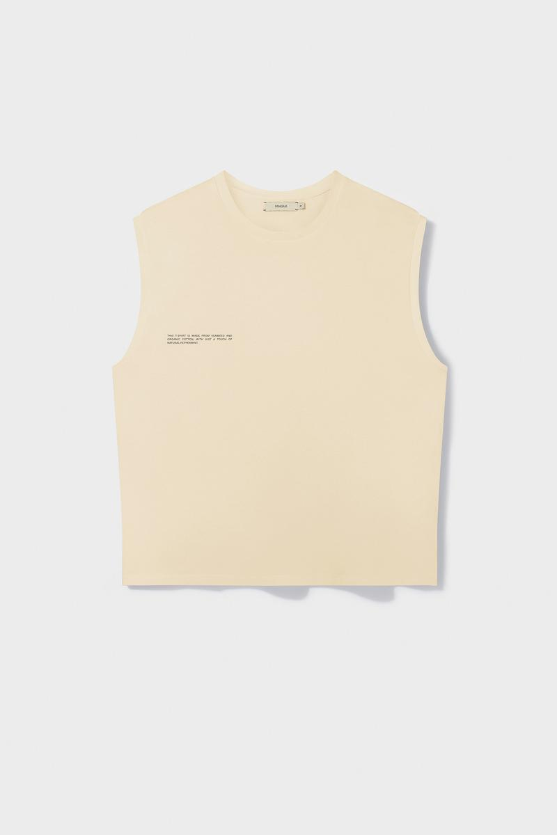 Pangaia Sleeveless Shirts Dye Collection Release White Red Blue Green