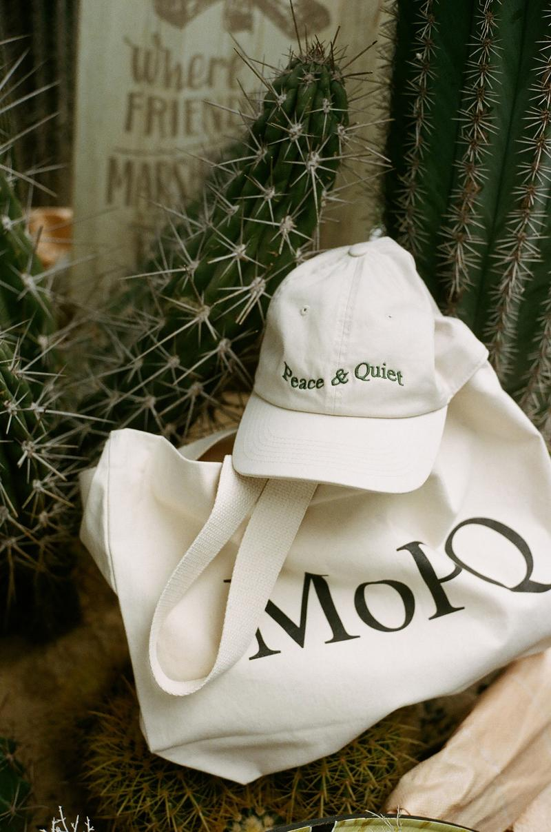 Peace & Quiet Hoodie Crewneck Cap MoPQ Natural Spring/Summer 2020 Collection
