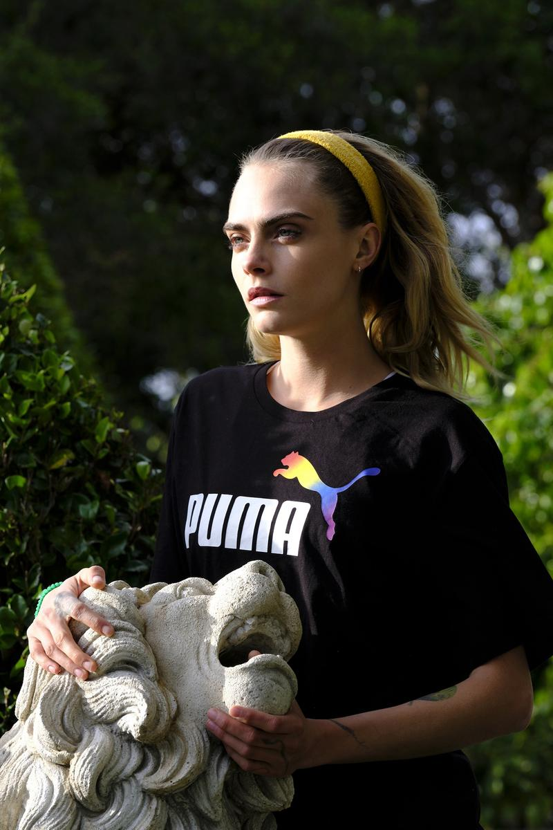 Cara Delevingne Fronts Puma S Pride Collection Hypebae