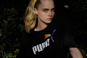 "Picture of Cara Delevingne Fronts Upcoming ""From PUMA With Love"" Pride Collection"