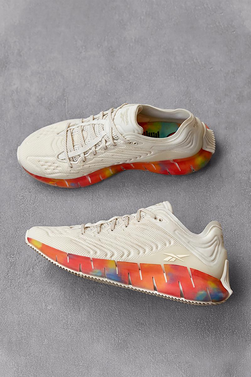 reebok all types of love pride month collection sneakers lgbtq proud notes campaign charity donation