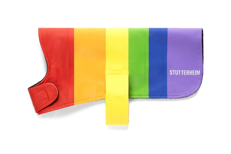 Stutterheim Vladimir Dog Coat Rainbow Pride Month