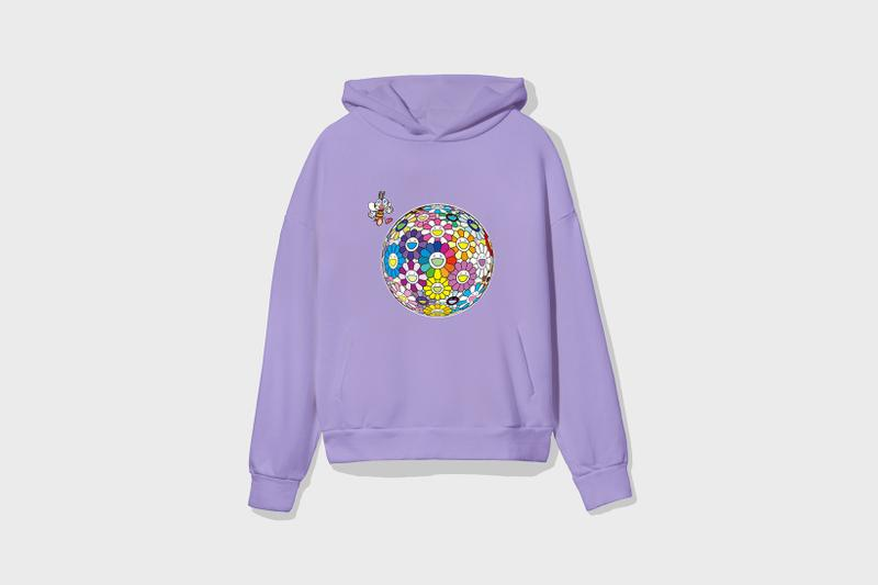 Takashi Murakami x Pangaia Collaboration Collection Hoodie T-Shirt Kaikai Kiki Flower Bee