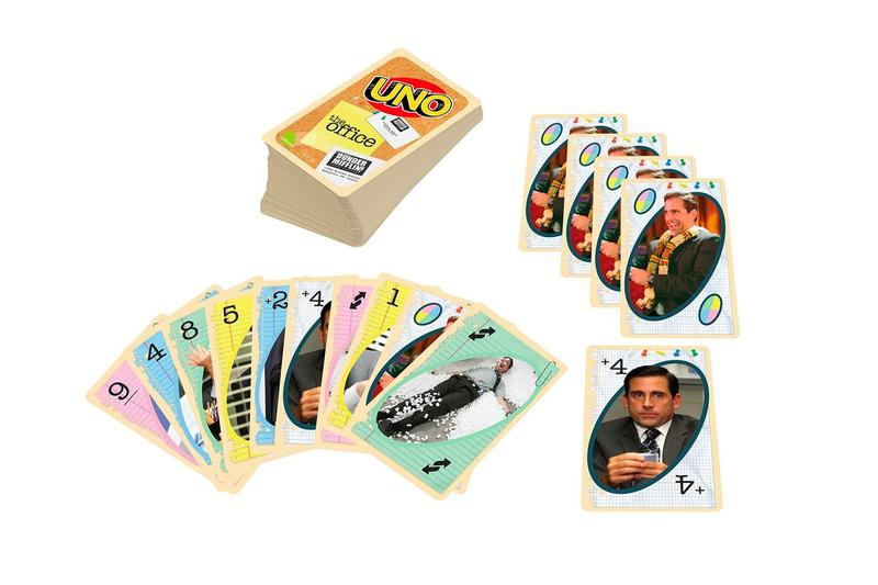 'The Office' UNO Card Game Release Mattel NBC Kevin Malone Chili Rule