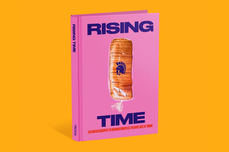 rising time cooking world baking day trojan brand condoms sex quarantine cookbook recipes