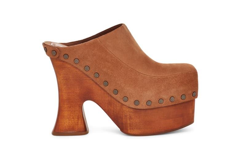 ugg eckhaus latta spring summer collaboration heels boots mules sandals footwear