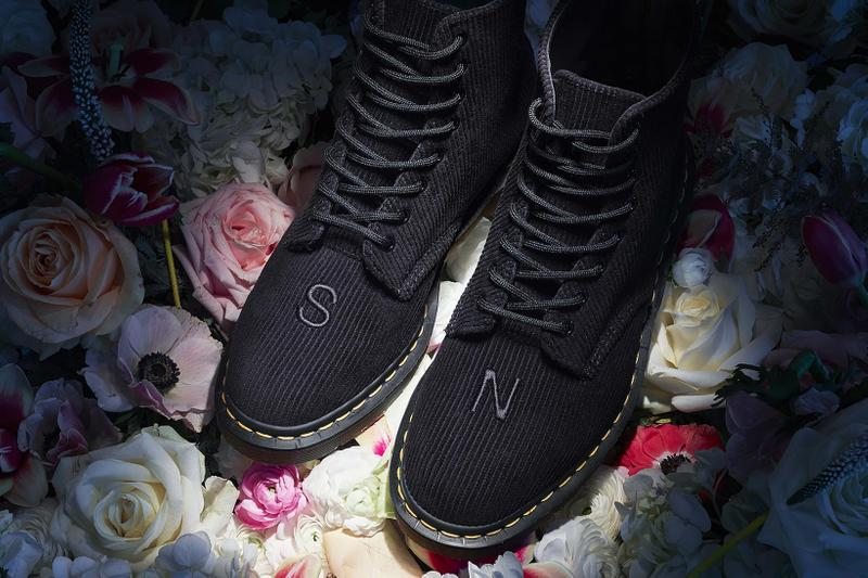 Undercover x Dr. Martens 1460 Boot Collaboration Remastered Corduroy Black