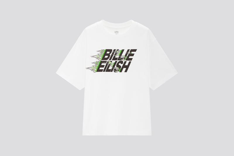 uniqlo ut billie eilish takashi murakami collaboration graphic t shirts womens mens kids