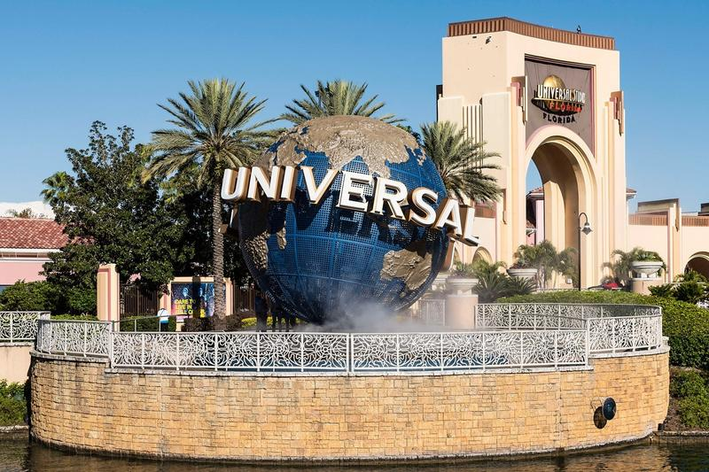 Universal Orlando Resort Studios Theme Park Florida Entrance