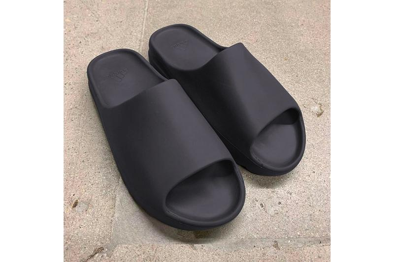 YEEZY SLIDE Core Soot Green Black Kanye West adidas Originals