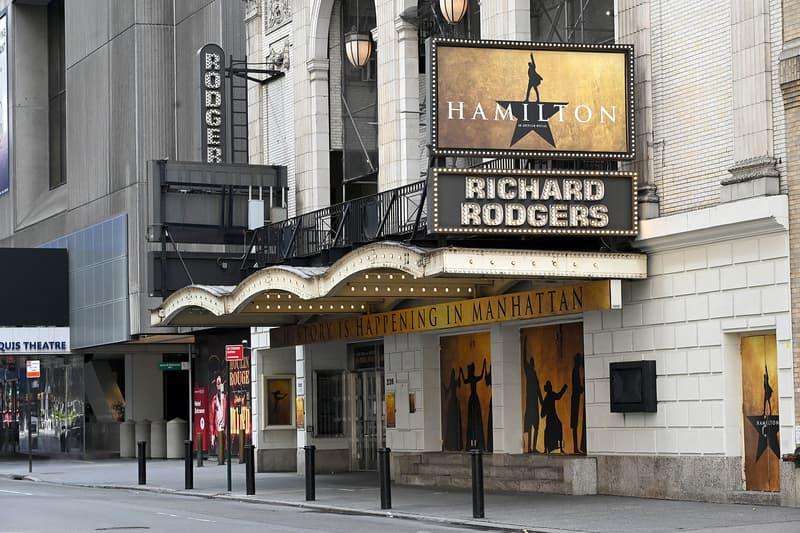 nyc broadway new york city closed coronavirus covid19 pandemic theater musicals