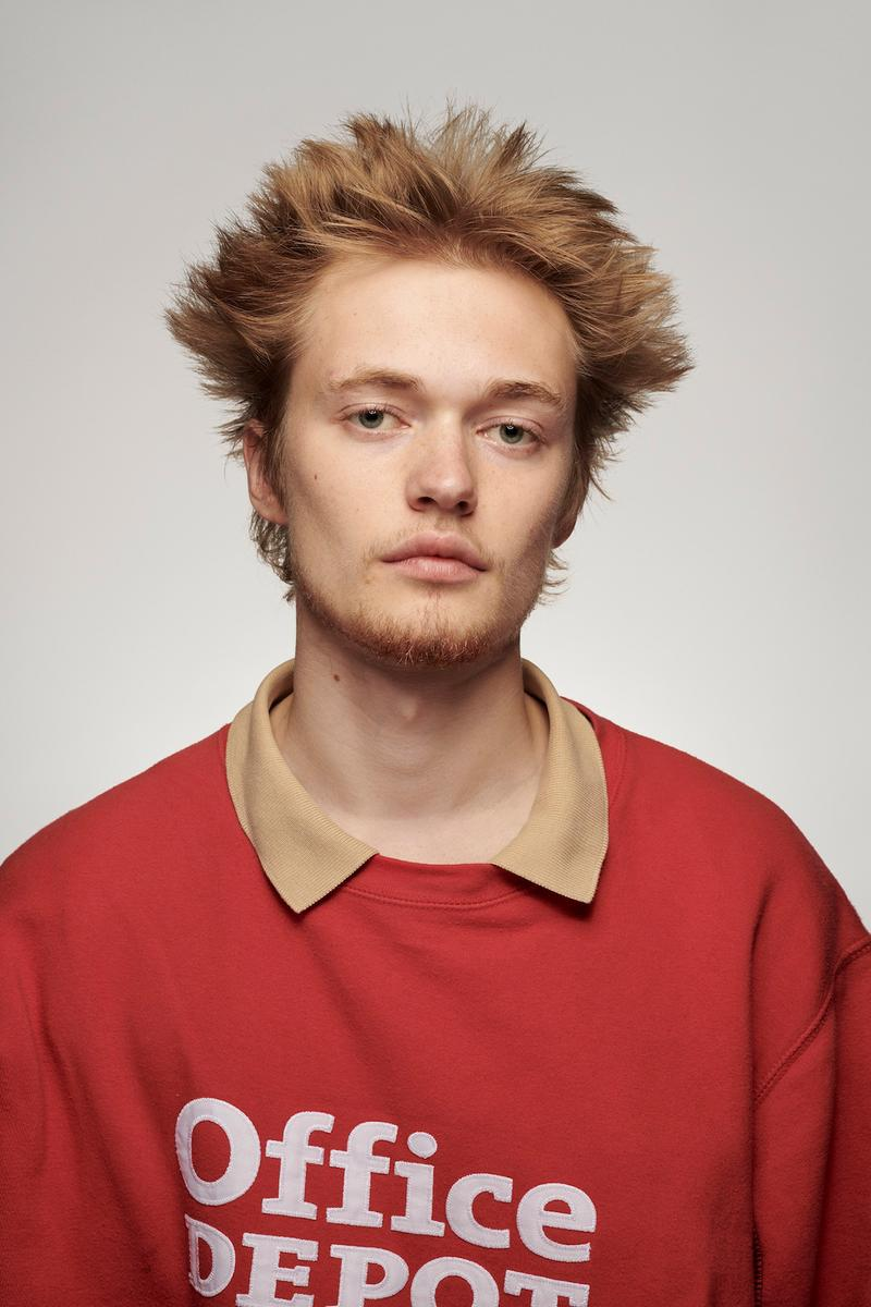 Central Saint Martins Student Portrait Series Balint Alovits London