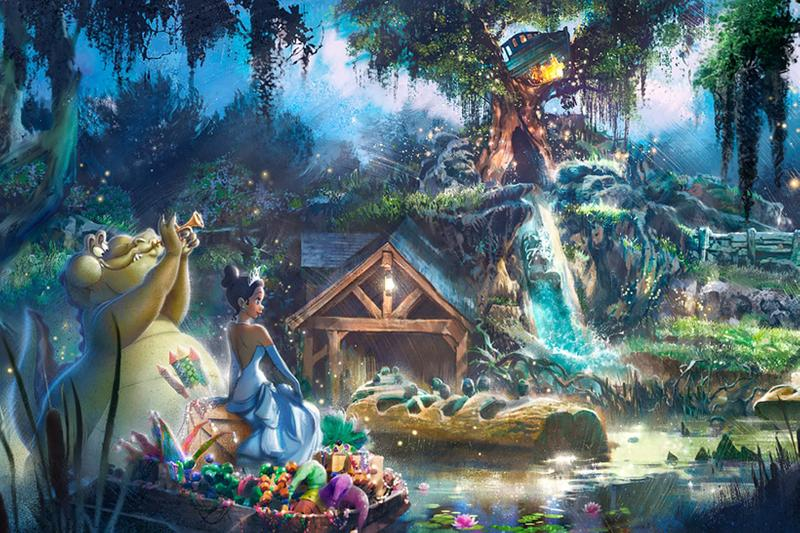 disney disneyland parks splash mountain ride rename the princess and frog princess tiana
