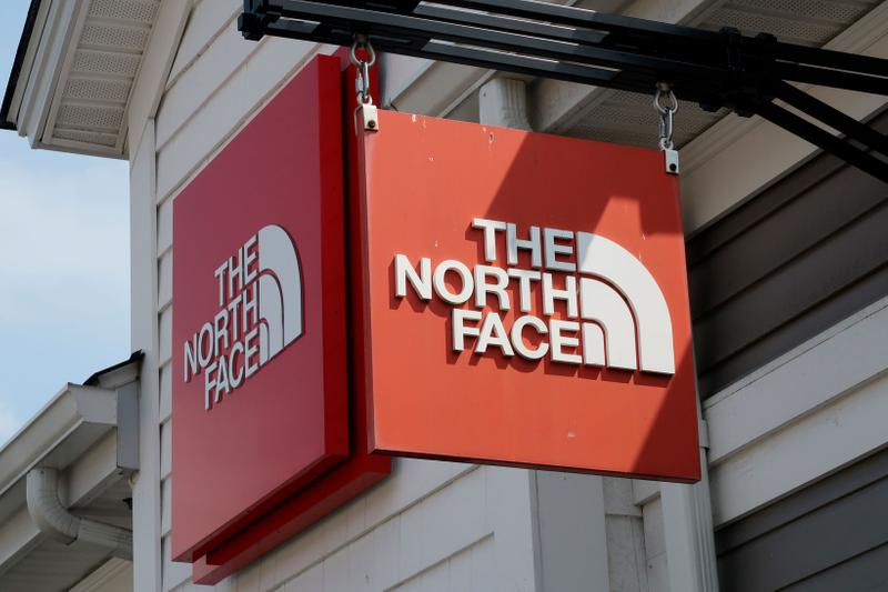 The North Face Store Sign Logo Location