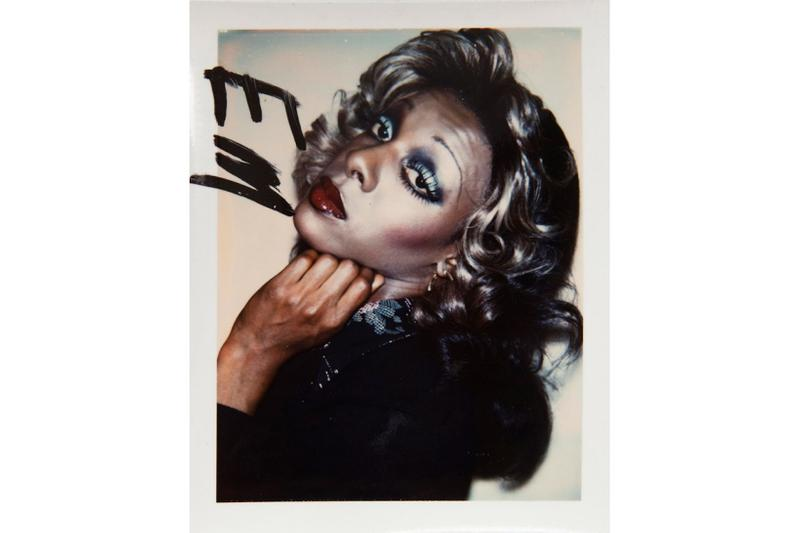 andy warhol photographs exhibition fotografiska new york hedges projects pride month lgbtq marsha p johnson drag queen