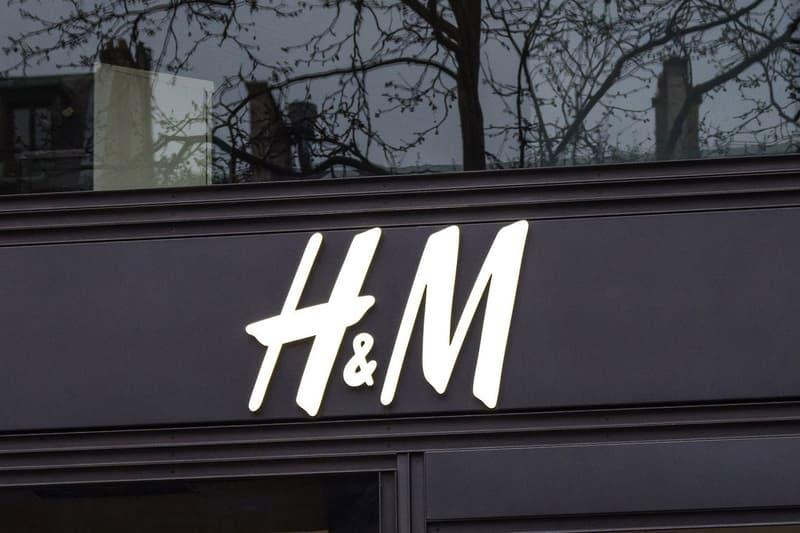 H&M Store Logo Sign Exterior