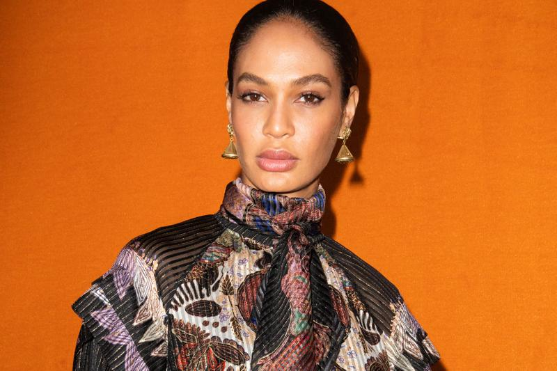 Joan Smalls Etro Fall/Winter 2020 Show Collection Backstage