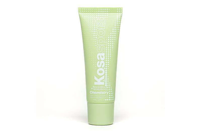 kosas kosasport chemistry deodorant aha serum clean beauty summer body care
