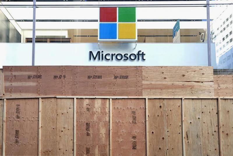 microsoft physical retail stores close permanent coronavirus covid 19 tech