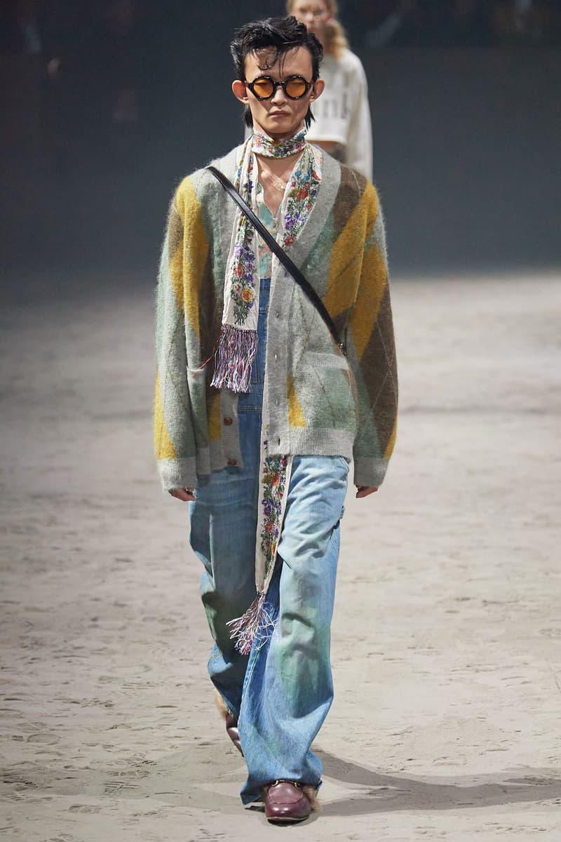 Gucci Fall/Winter 2020 Show Milan Fashion Week Men's Collection