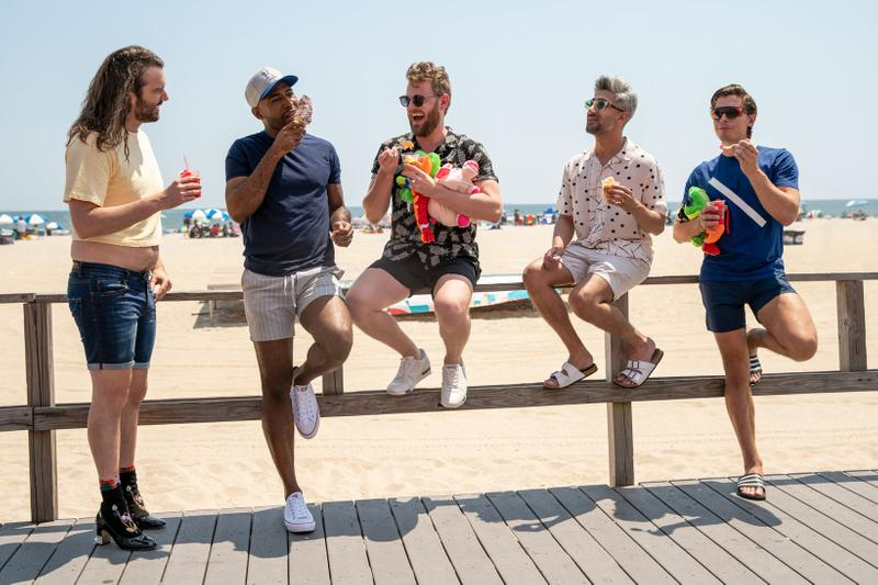 Queer Eye Cast Fab 5 Jonathan Tan Antoni Karamo Bobby