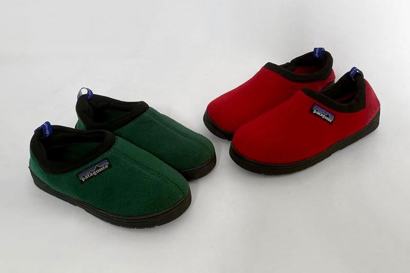 Nicole McLaughlin Patagonia Slippers Green Red
