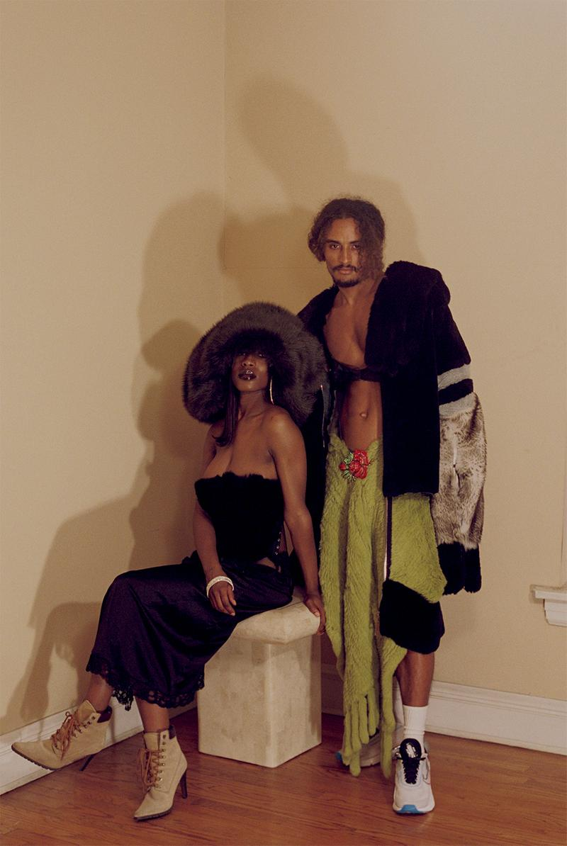 no sesso fall winter collection campaign harlem renaissance pierre davis autumn randolph