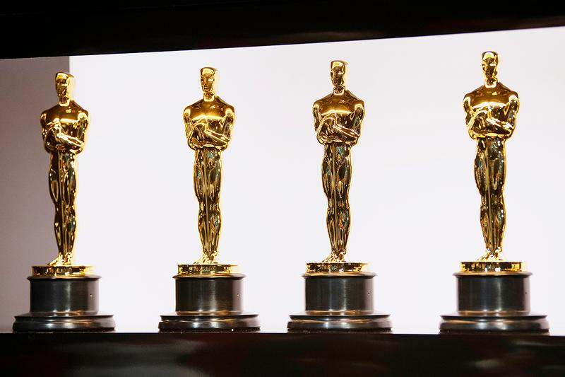 Oscars Trophy Gold Man The Academy Award Statue Movie Film Motion Pictures