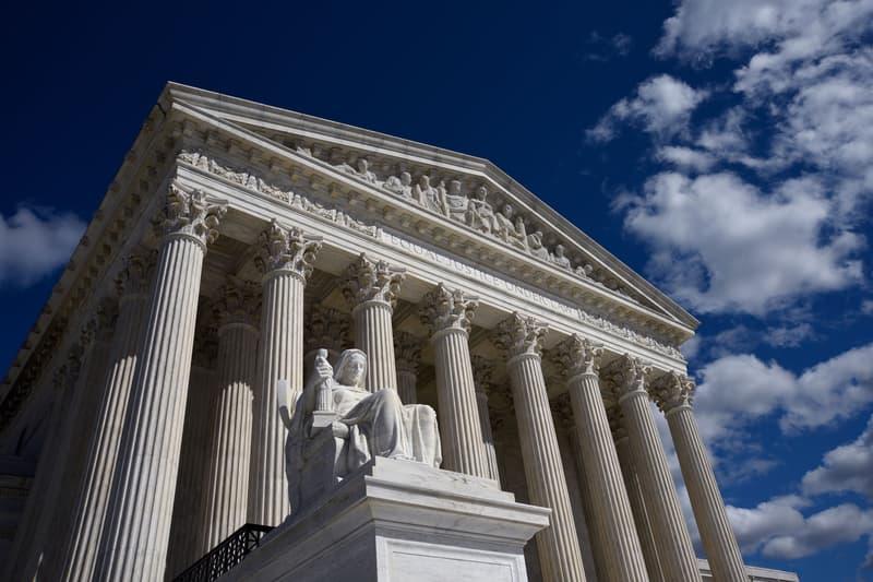 Supreme Court Washington D.C. United States Building Exterior