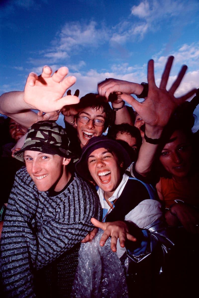 Glastonbury Festival 1990 Attendees Crowd