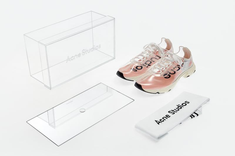 Acne Studios N3W Transparent Trail Sneaker Clear See Through