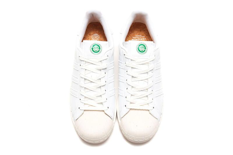 adidas originals stan smith superstar clean classics eco-friendly sustainable collection