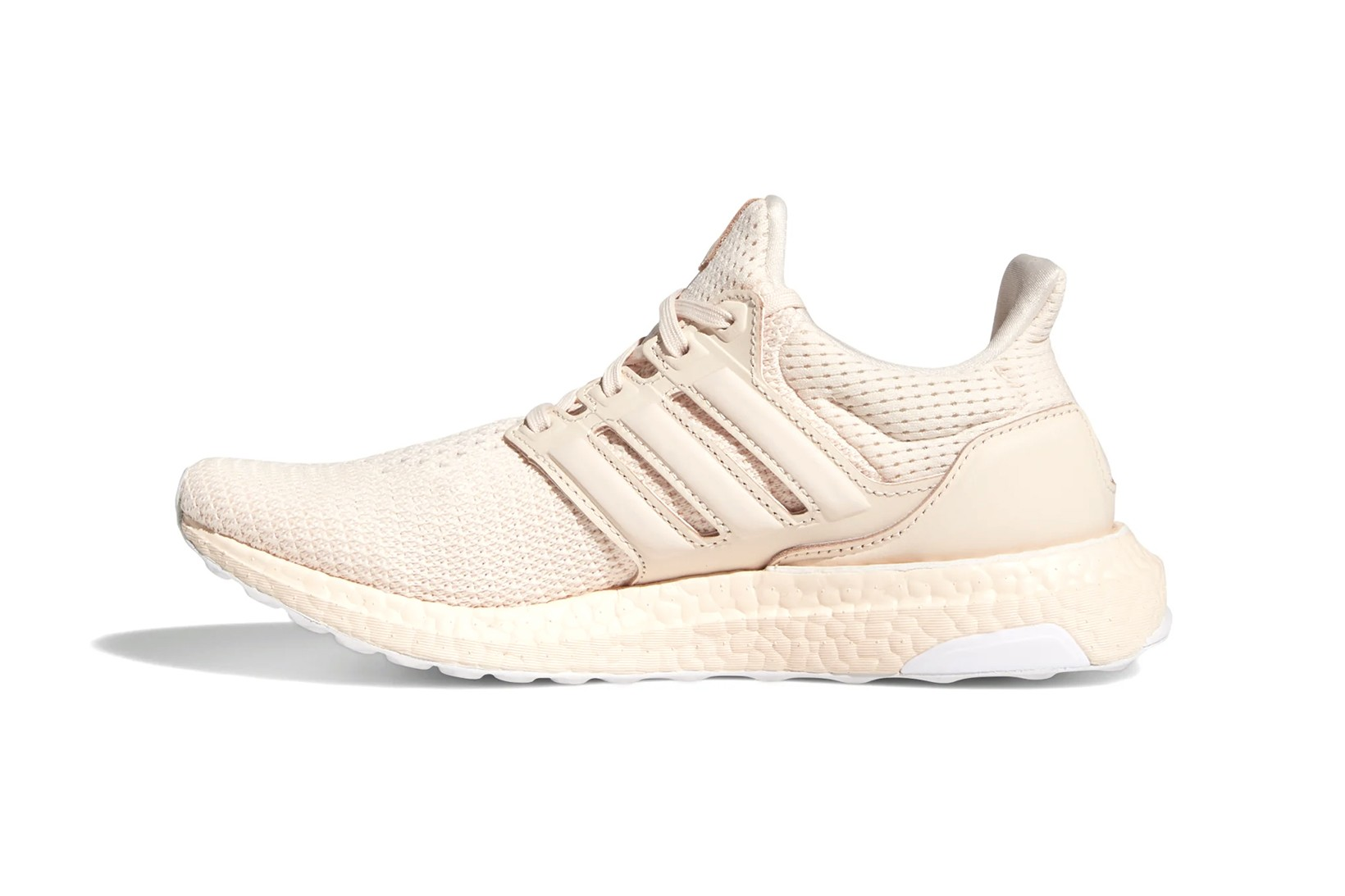 pink white adidas shoes