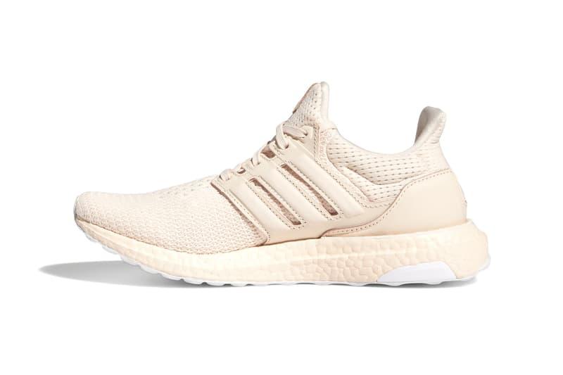 adidas ultraboost womens sneakers pink white colorway shoes footwear