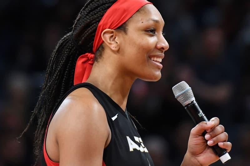 A'ja Wilson WNBA Las Vegas Aces 2019