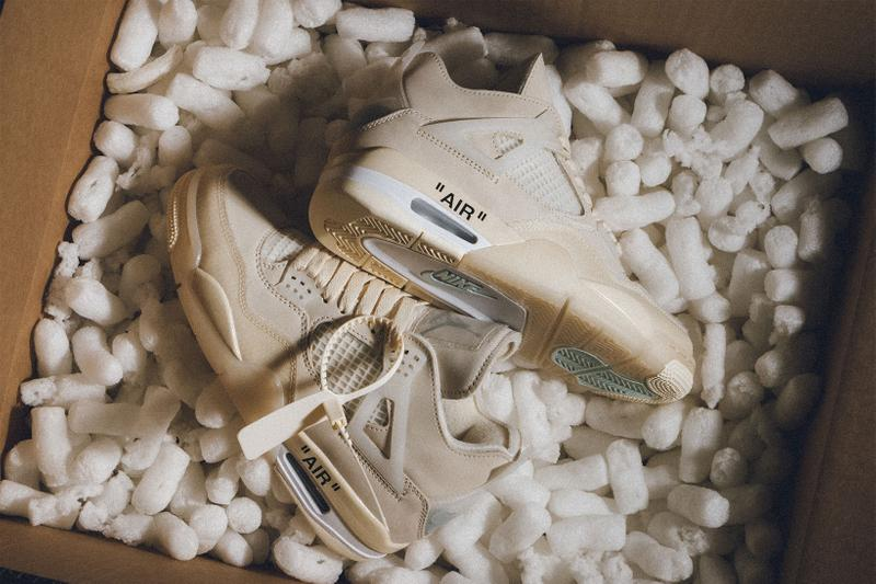 off white nike air jordan 4 sail fenty skin rihanna jjjjound new balance where to buy release price info