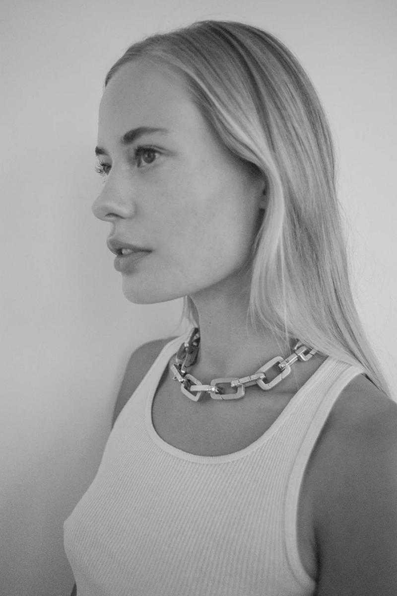 bagatiba cara collection gold silver clips chain eco-friendly sustainable customizable jewelry accessories