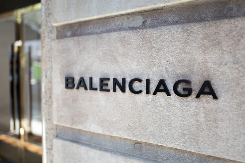 Balenciaga Store New York Logo