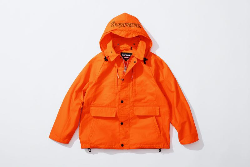 barbour supreme spring 2020 collaboration restock release info jackets hats bags