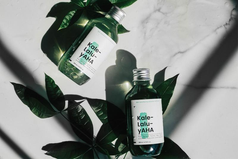 best k-beauty toners krave kale-lalu-yaha resurfacing exfoliating