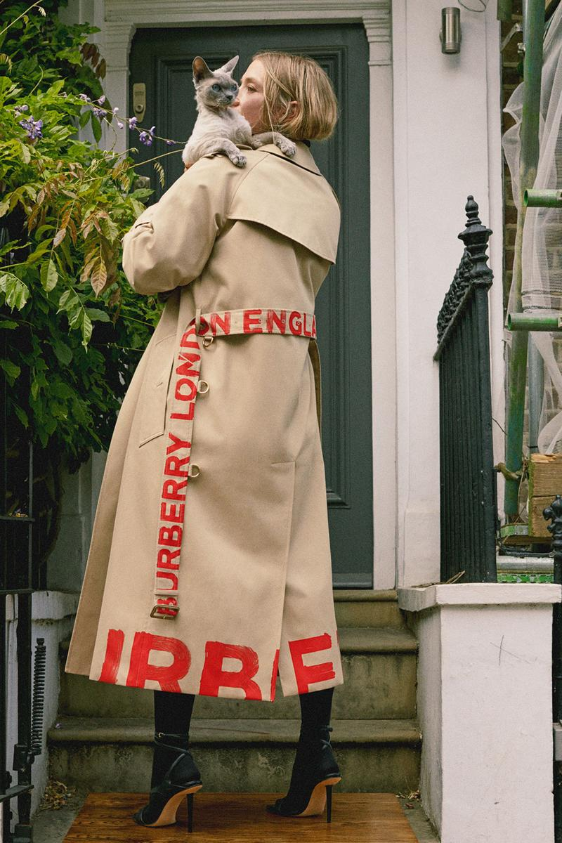 burberry spring summer 2021 pre-collection lookbook pocket bag trench coats jackets riccardo tisci
