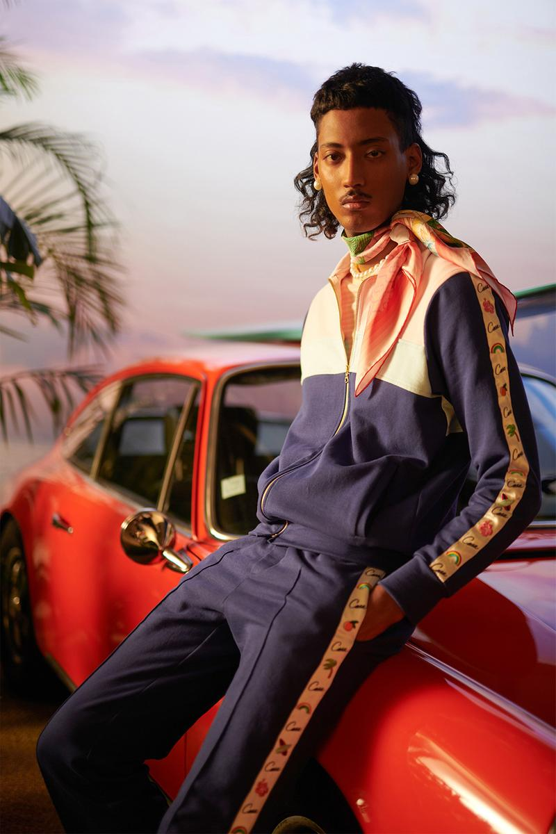 casablanca spring summer 2021 collection lookbook new balance 237 sneakers