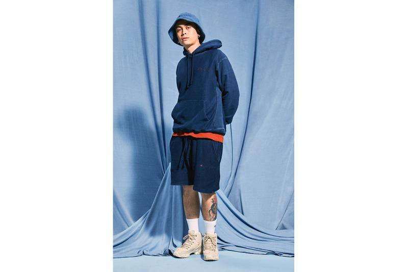 champion rebound eco-friendly sustainable streetwear upcycling bucket hats hoodies tote bags