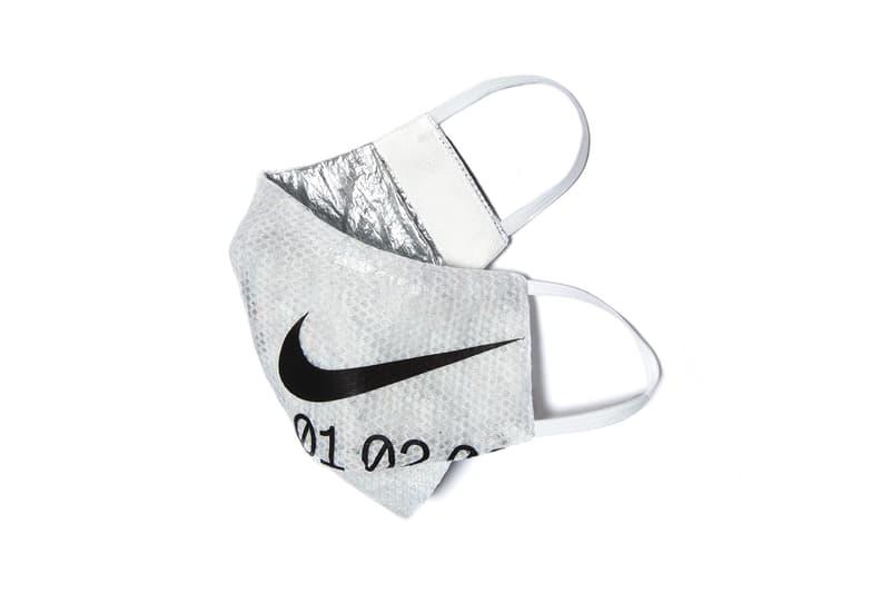 clothsurgeon nike space hippie sneaker bag reconstruct utility vest bucket hat face mask