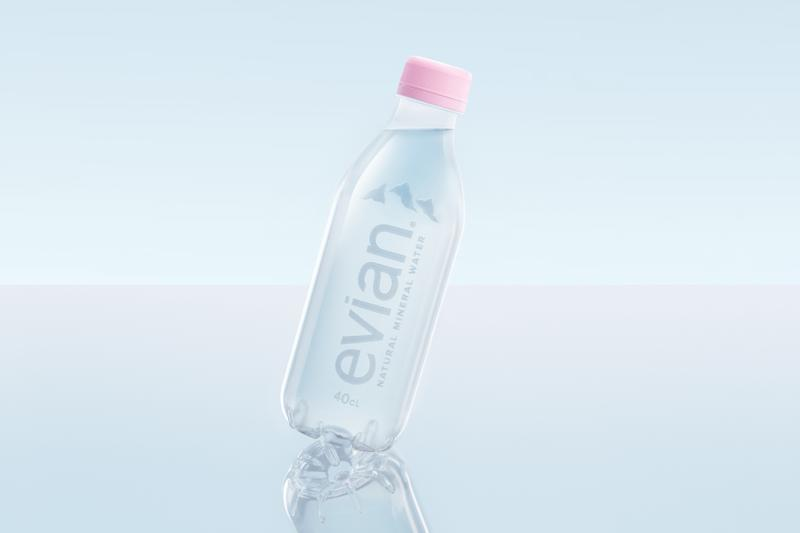 Evian Releases 100% Recyclable Plastic Bottle