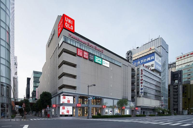 UNIQLO Store Japan Retail Exterior Building