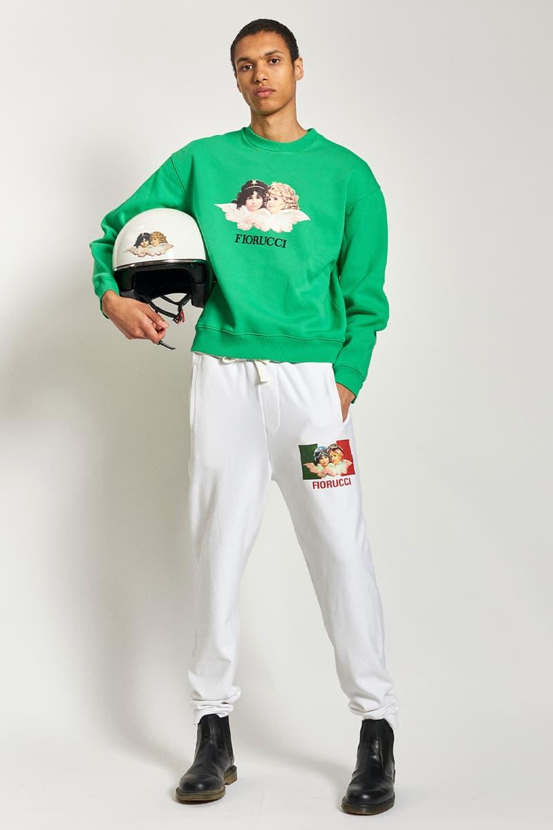 fiorucci spring summer 2021 daniel fletcher menswear lookbook formula 1 denim sweatpants t-shirts