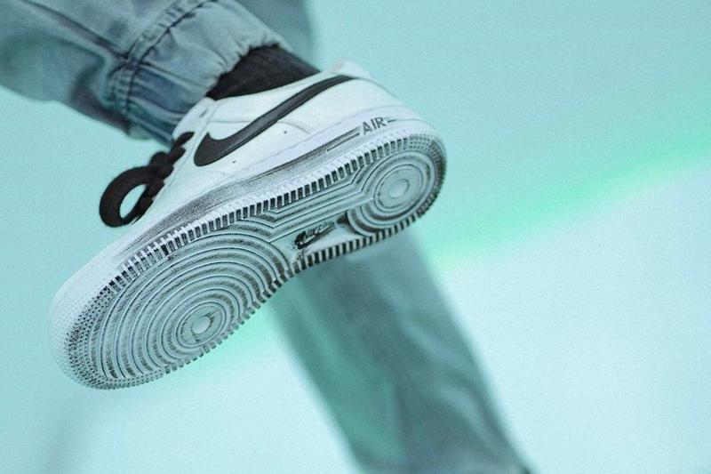 "G-Dragon PEACEMINUSONE x Nike Air Force 1 ""Para-Noise 2.0"" Release Date Closer Look Sneaker Footwear AF1"