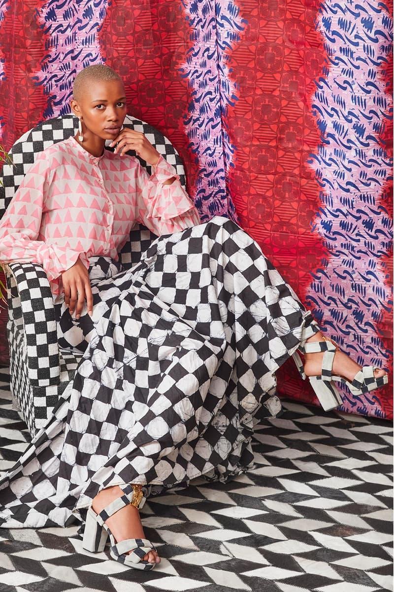 industrie africa retail ecommerce platform summer campaign fashion pants dresses heels